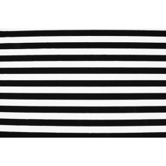 Stripes Lycra/black-white