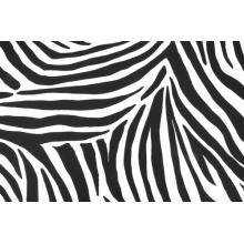 Zebra - smooth velvet