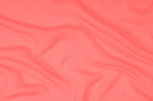 satyna stretch DSI - coral (peach)