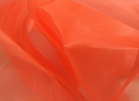 szyfon (organza) DSI - coral (peach) DSI
