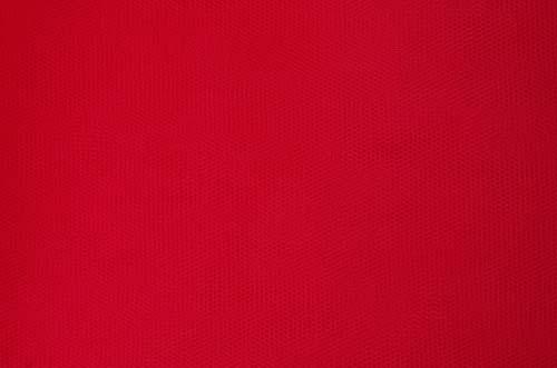 tiul sztywny - scarlet