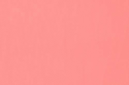 tiul sztywny - coral