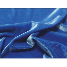 Smooth velvet CHR-C - cobalt