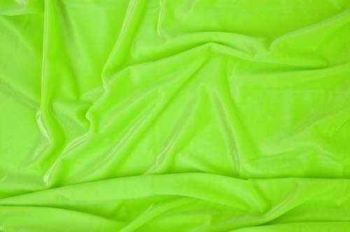 Smooth velvet CHR-C - fluorescent green CHR