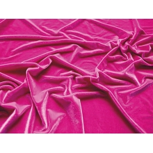 Smooth velvet CHR-C - electric pink CHR