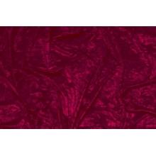 Crushed velvet DSI - burgundy
