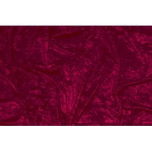 crushed velvet DSI - burgundy