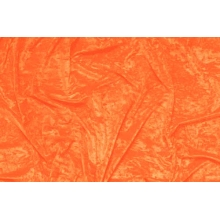 crushed velvet DSI - orange