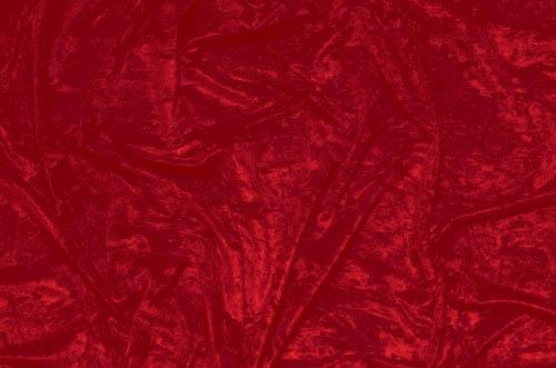 Crushed velvet DSI - flamenco