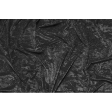 crushed velvet DSI - black