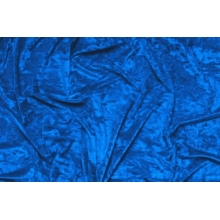 Crushed velvet DSI - ocean blue