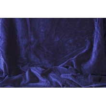 crushed velvet DSI - navy