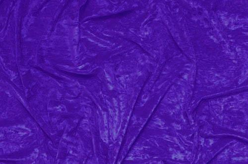 crushed velvet DSI - purple