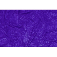 crushed velvet DSI - purple