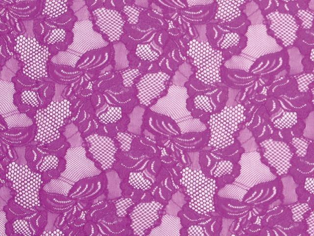 Floral Cascade  - fluorescent green