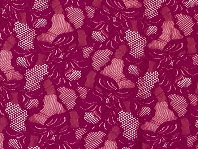 Floral Cascade  - purple rain