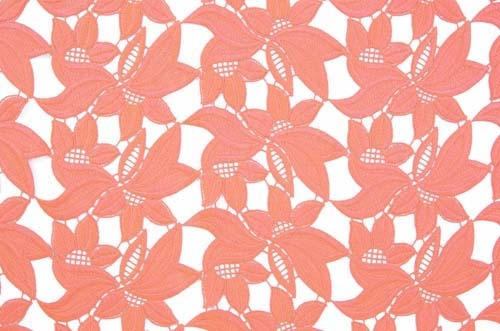 Diana Lace - coral