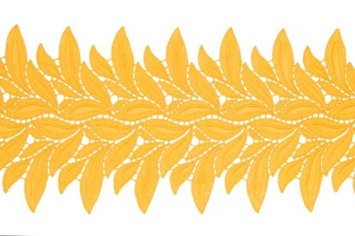 Lucy Lace Ribbon - light gold
