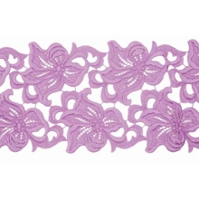 Lilia Lace Ribbon - lilac