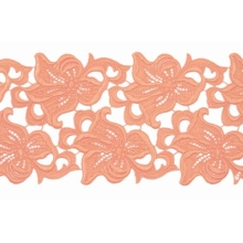 Lilia Lace Ribbon - mango