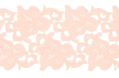 Lilia Lace Ribbon - coral