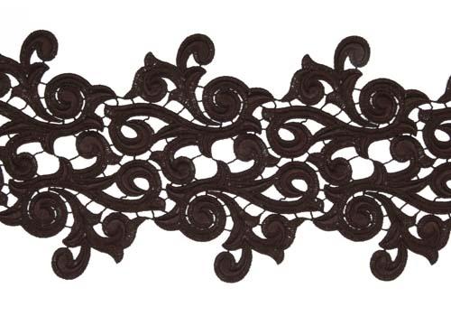 Lolita Lace Ribbon - cocoa