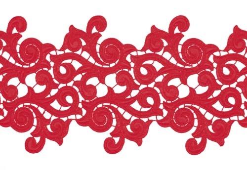 Lolita Lace Ribbon - flamenco