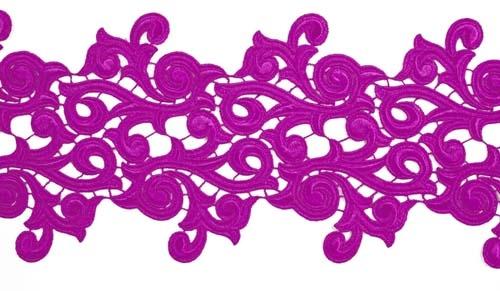 Lolita Lace Ribbon - hawaiian pink