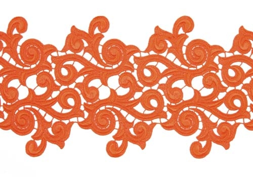 Lolita Lace Ribbon - orange