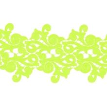 Lolita Lace Ribbon - lime