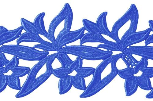 Sabrina Lace Ribbon - ocean blue