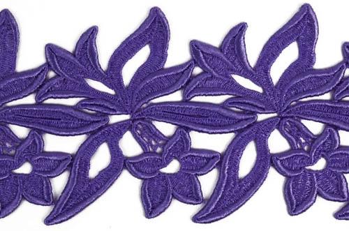 Sabrina Lace Ribbon - purple