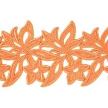 Sabrina Lace Ribbon - orange