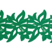 Sabrina Lace Ribbon - emerald
