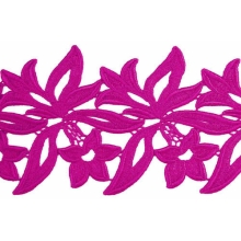 Sabrina Lace Ribbon - hawaiian pink