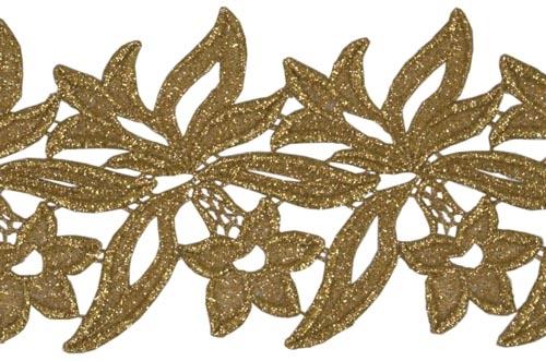 Sabrina Lace Ribbon - gold
