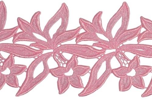 Sabrina Lace Ribbon - rosepink