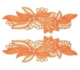 Maria Lace Pair <span class='shop_red small'>(orange)</span>