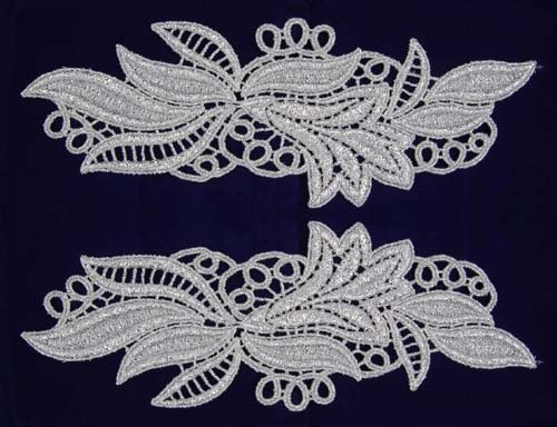 Maria Lace Pair - lilac