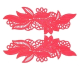 Maria Lace Pair <span class='shop_red small'>(flamered)</span>