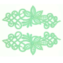 Sophia Lace Pair - peppermint