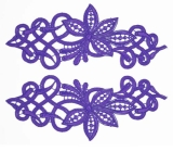 Sophia Lace Pair <span class='shop_red small'>(amethyst)</span>