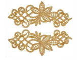 Sophia Lace Pair - gold
