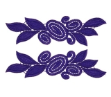Laura Lace Pair <span class='shop_red small'>(sapphire)</span>