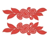 Laura Lace Pair <span class='shop_red small'>(flamered)</span>