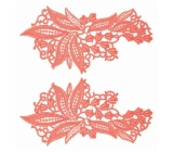 Sylvia Lace Pair <span class='shop_red small'>(coral)</span>