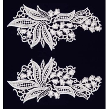 Sylvia Lace Pair - white