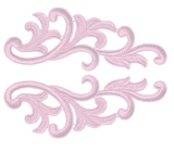Serena Lace Pair <span class='shop_red small'>(rosepink)</span>