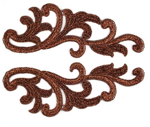 Serena Lace Pair - copper