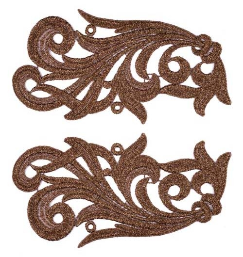 Clara Lace Pair - copper